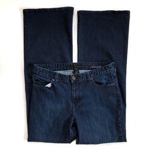 Calvin Klein Dark Wash High Rise Wide Leg Jeans